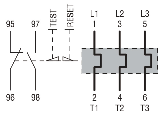 motor protection relays phase failure single phase sensitive wiring diagram
